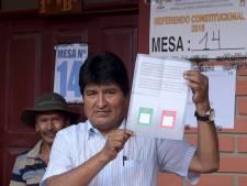 'Bolivia stemt tegen vierde termijn Morales'