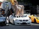 De mooiste auto's worden compleet vernietigd.