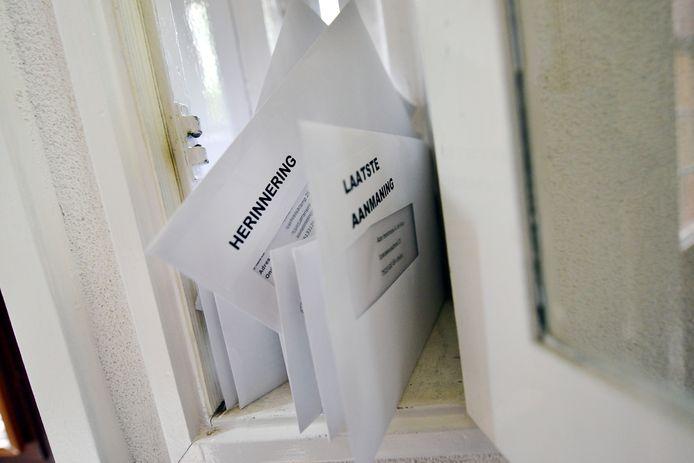 """,,Post ging allemaal in een grote doos. Nee, die maakte ik daarna niet open. Die ging naar het oud papier"""", zegt Ilse."""
