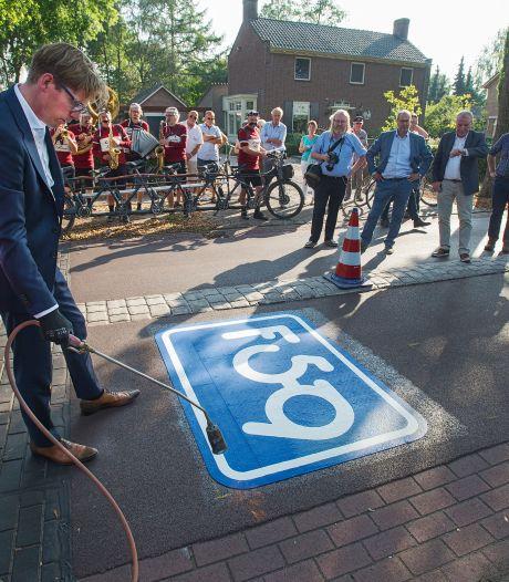 Minder fietsers tussen Oss en Den Bosch sinds aanleg fietssnelweg F59