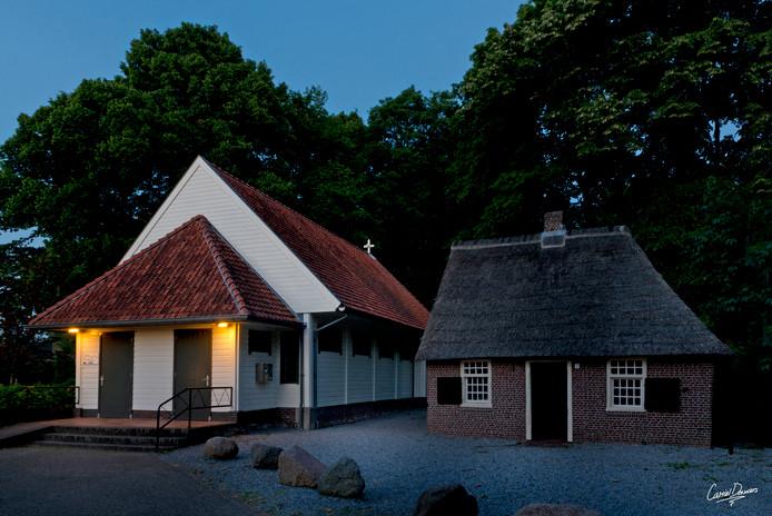 Het geboortehuisje van Peerke Donders (op rechts).