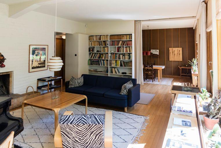 Tot aan zijn dood bleef Alvar Aalto wonen in dit huis in Helsinki, dat hij aan het begin van zijn carrière bouwde.  Beeld Alamy Stock Photo