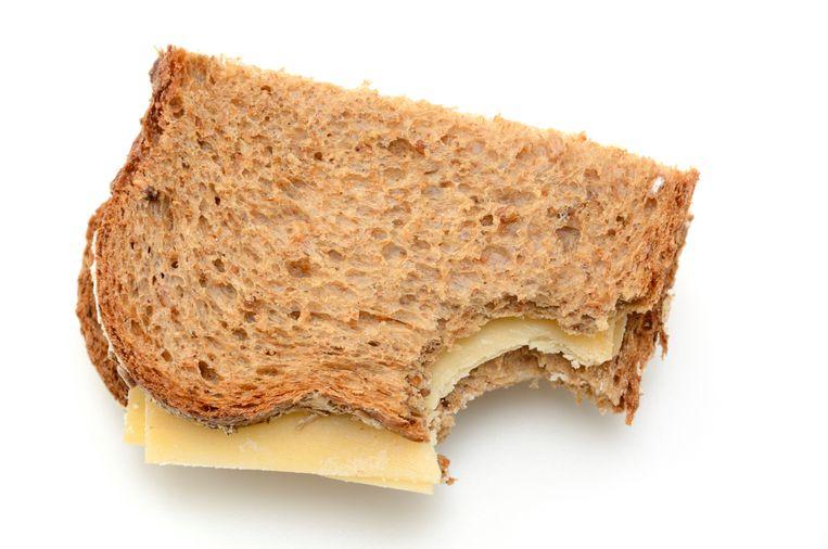 'Voedingsstoffen reageren ook op elkaar: kaas en brood apart leveren niet dezelfde energie als een broodje kaas.' Beeld ANP XTRA
