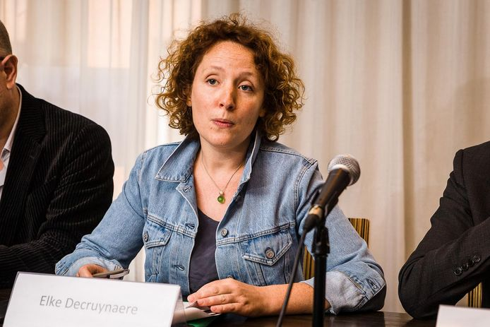 Schepen van Onderwijs Elke Decruynaere (Groen).