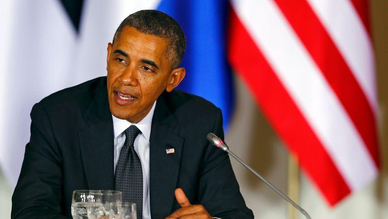 Barack Obama. Beeld REUTERS