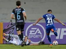 Un gardien de but exclu pour avoir uriné derrière son but en plein match