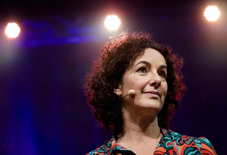Femke Halsema vorig jaar op het GroenLinks partijcongres.  Beeld anp
