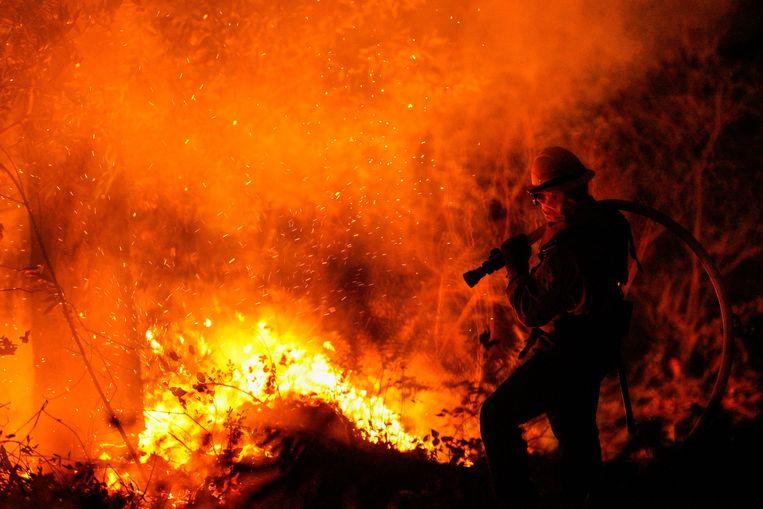 Archieffoto van bosbranden in Californië. Beeld Photo News