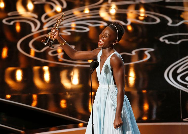 Lupita N'yongo won een Oscar in 2014. Beeld Photo News