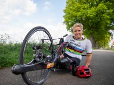Concurrentie, je bent gewaarschuwd: handbikester Jennette Jansen uit Westerhaar gaat naar het WK