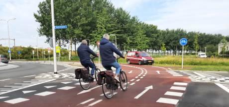 Onveilige situaties nieuwe snelfietsroute door Reeshof: 'Gewenningsperiode hoort erbij'