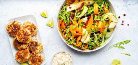 Wat Eten We Vandaag: Krabkoekjes met remouladesaus