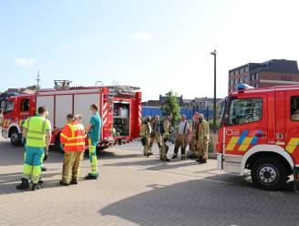 Brandalarm treedt in werking na rookontwikkeling in ondergrondse garage