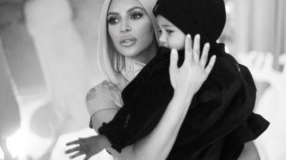 Zoontje Kim Kardashian streed tegen longontsteking