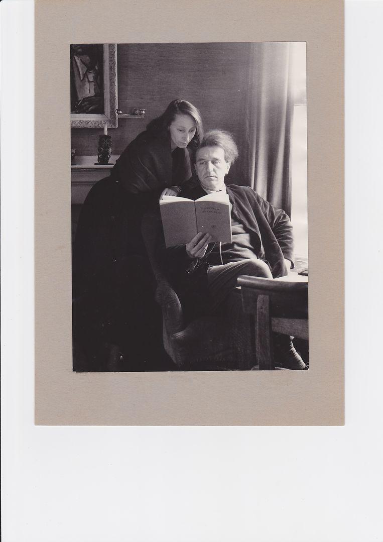 Gisèle en Wolfgang, begin jaren vijftig.  Beeld Archief Castrum Peregrini Amsterdam