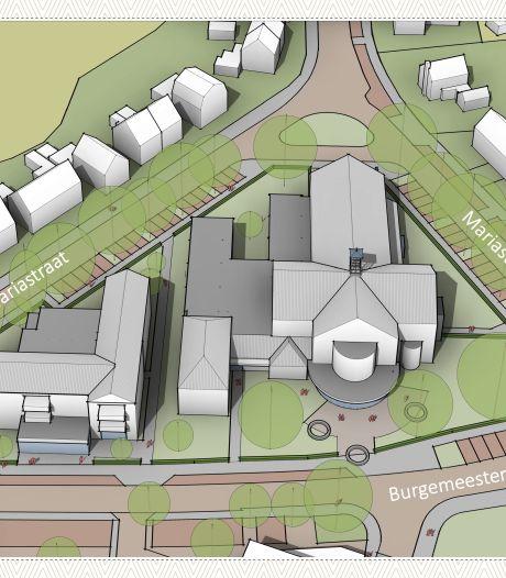 Woongebouwen rondom Mariakerk minder hoog, maar gemeente Oldenzaal niet blij met commerciële ruimte