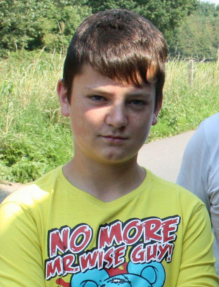 Op 28 november 2012 sprong Inias Michiels (14) van een snelwegbrug in Ternat nadat hij maandenlang gepest werd. Zijn zaak is de onmiddellijke aanleiding tot de wetswijziging die belaging weghaalde uit de klachtmisdrijven. Beeld Mozkito