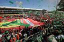 De tifosi smachten naar een zege van Ferrari op Monza.