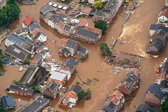 De overstromingen in Wallonië.