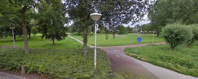 Park Gerenlanden in Zwolle-Zuid.