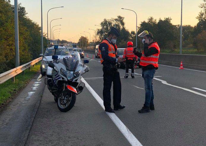 Politie Getevallei hield zaterdag een verkeersactie.