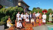 Balinezen verbroederen met Waregemnaren in privé wellness