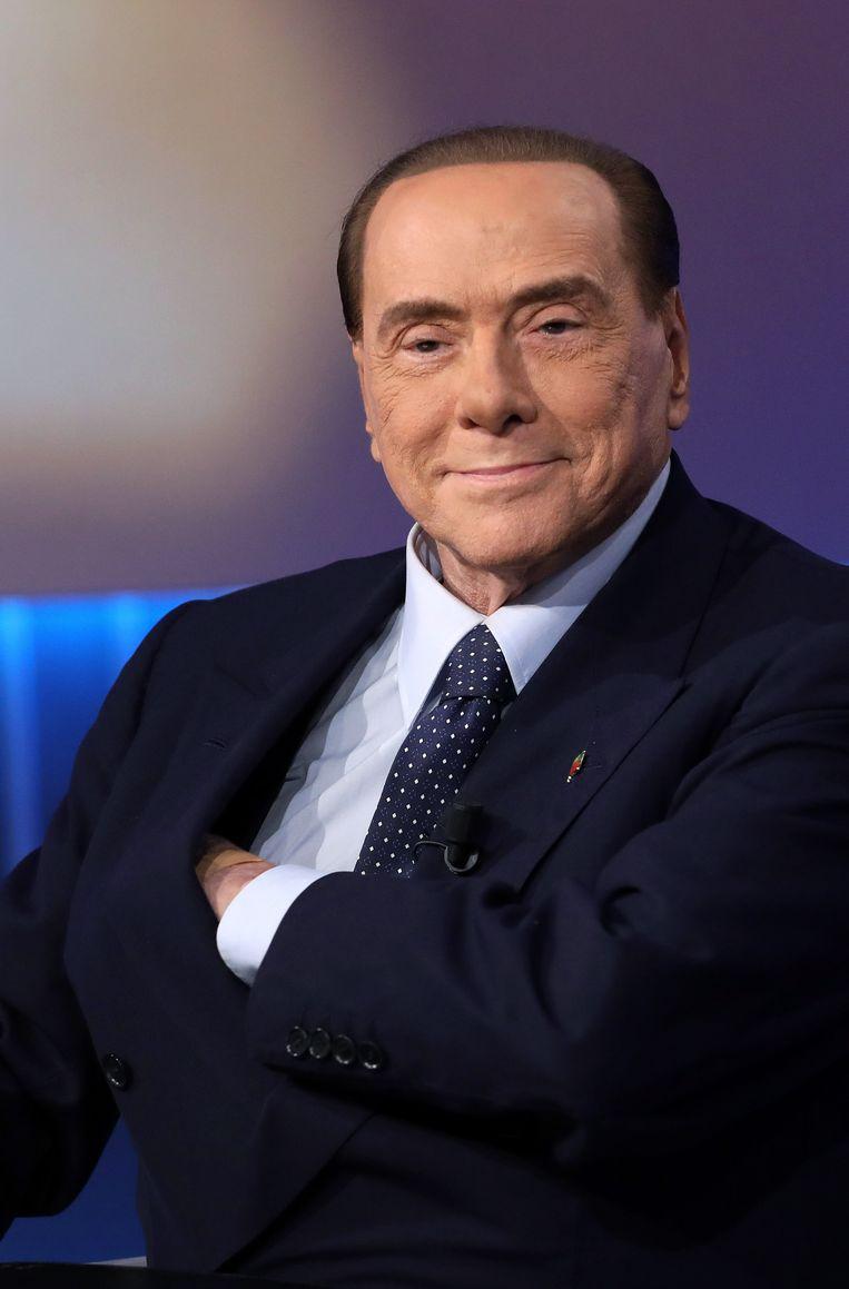 Silvio Berlusconi Beeld Getty Images