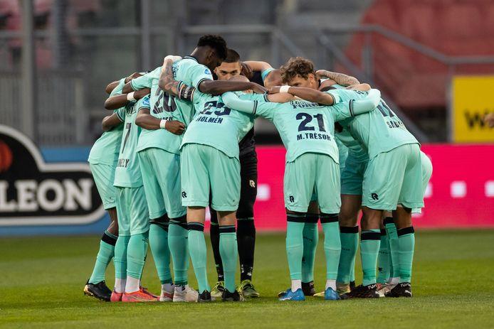 De groepshug van Willem II voor de uitwedstrijd tegen FC Utrecht.