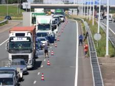 Twee gewonden bij aanrijding op A4 ter hoogte van Schipluiden, weg tijdelijk afgesloten