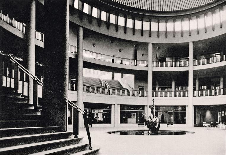 Ravensteingalerij, Brussel Beeld Les Frères Haine, 1958