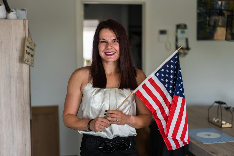 Stephanie Andries: 'Ze zeggen altijd dat Trump seksistisch is, maar tijdens zijn presidentschap heeft hij nooit zulke dingen gedaan als pakweg Bill Clinton.'