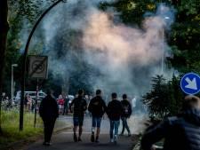 De jeugd scandeert 'White Power, de rest kijk toe in Harskamp: 'Allemaal oprotten'