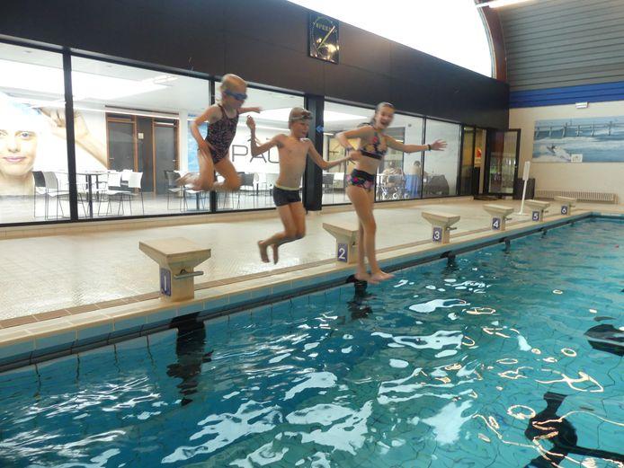Zwemmen in Palaestra.