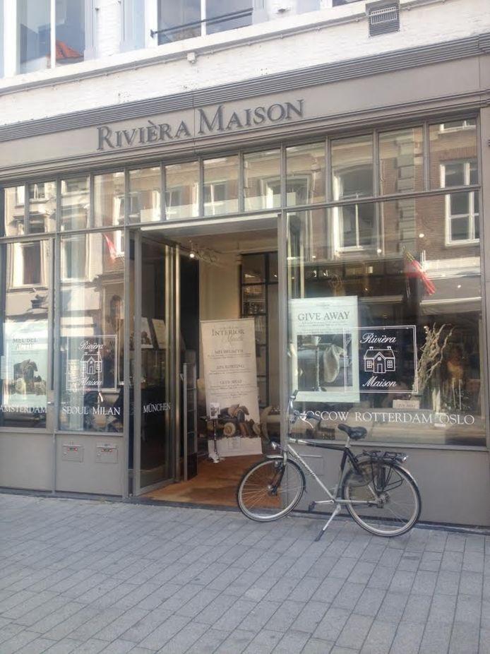De pui van interieurzaak Rivièra Maison aan de Vughterstraat in Den Bosch heeft de puiprijs 2015 gewonnen.