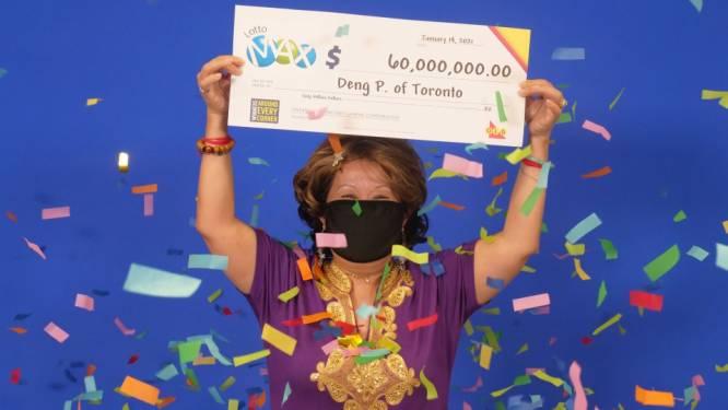 Canadese wint 60 miljoen met gedroomde lottocijfers
