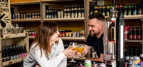 Bieravonturiers komen aan hun trekken dankzij nieuwe winkel van David en Elise