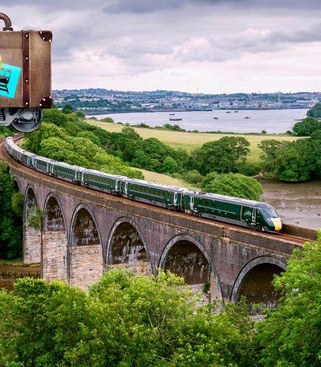 Treinrit van Londen naar Penzance voelt als reis door fraaie en ongure verleden van Engeland