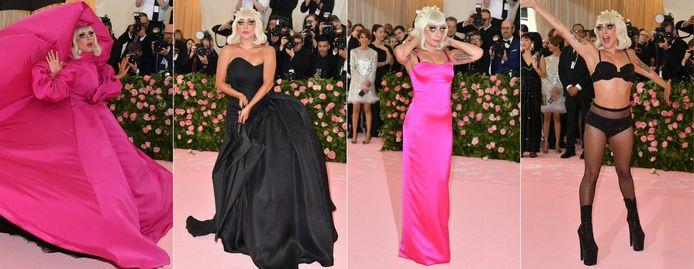 In 2019 droeg Lady Gaga vier outfits voor het Met Gala. Een stunt die Anna Wintour niet snel zal vergeten.