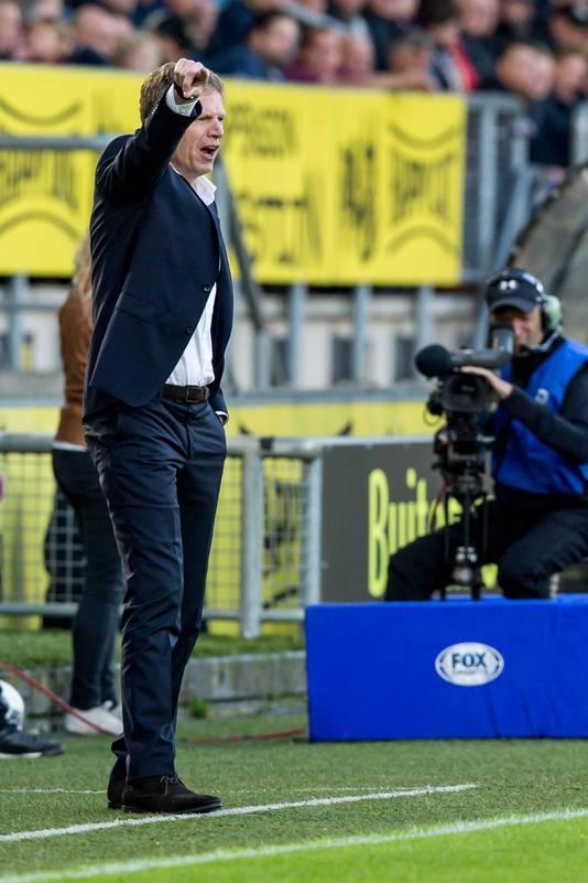 ADO-trainer Groenendijk.