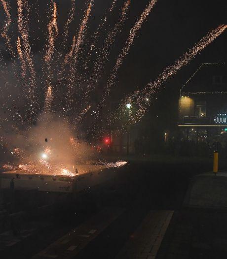 Toch meer schade door vuurwerk in Cuijk, Grave en Mill: 'We kunnen niet overal tegelijk zijn'
