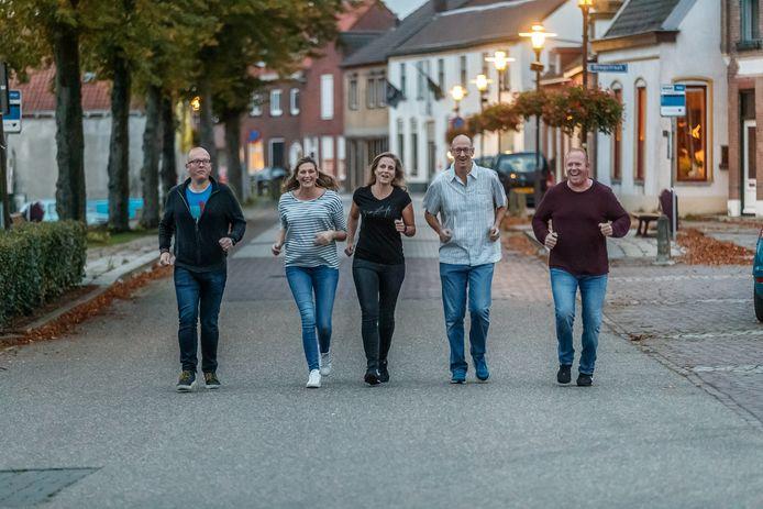 Stampersgattenaren Jeroen Heijnen, Marieke Kuijlen, Esther van Caam, Jac van Caam en Ivo den Ouden hebben elkaar gevonden in de Stichting Stampersgat Sportief. Zaterdag houden ze hun eerste evenement. Hardlopen en wandelen. Het J.F. Vlekkeplein is de plaats van de start/finish.