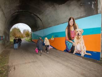 Muurschildering viert 30ste verjaardag Belgisch Centrum voor Geleidehonden