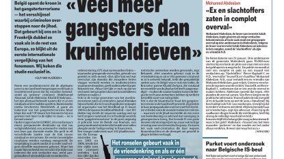 """Veel meer gangsters dan kruimeldieven"""