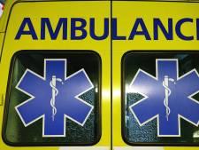 Patiënt met ambulancebroeders vast in lift in Gorinchem