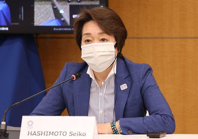 Seiko Hashimoto, voorzitter van het organisatiecomité.