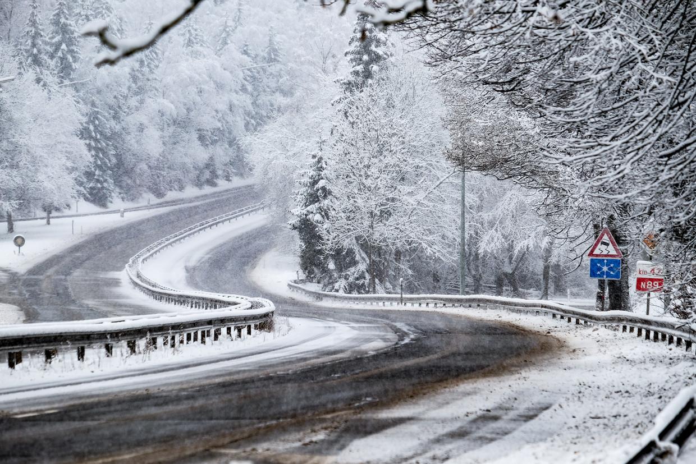 Officieel is op 20 januari 1940 de koudste temperatuur van België gemeten. Beeld BELGA