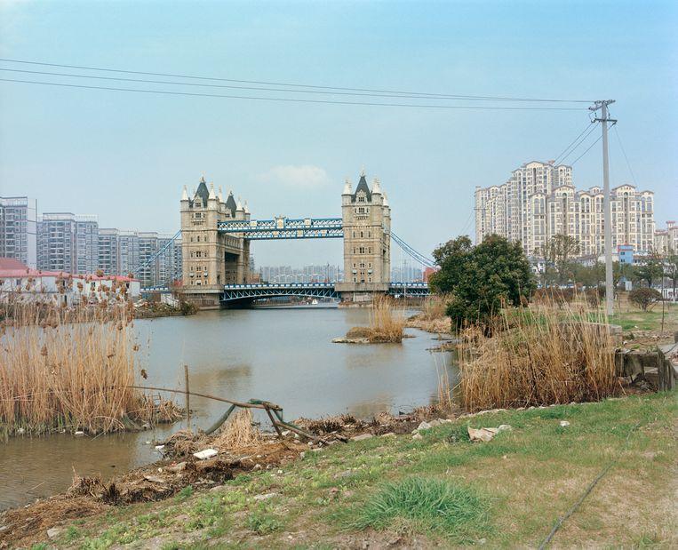 Tower Bridge (origineel in Londen) Beeld PAULINE NIKS