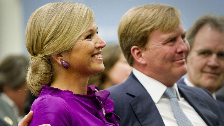 Prinses Máxima en prins Willem-Alexander. Beeld ANP