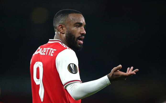 File photo dated 24-10-2019 of Arsenal's Alexandre Lacazette.
