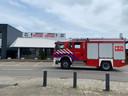 De brandweer rukte met twee tankautospuiten uit.